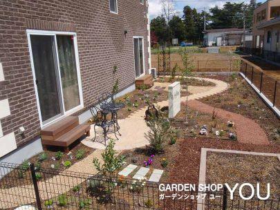 成長していくお庭が楽しみ。