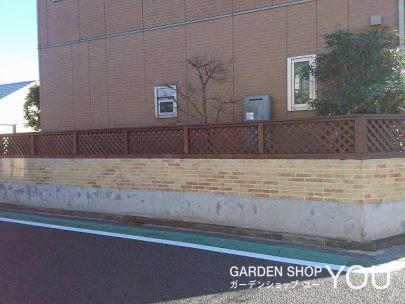 見違えるほどきれいになったフェンスと壁。
